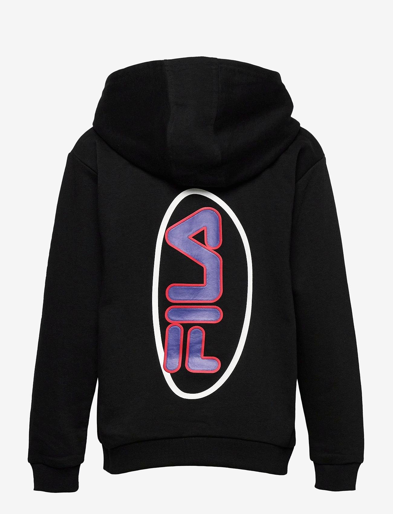 FILA - TEENS BOYS VITOR hoody - hoodies - black - 1