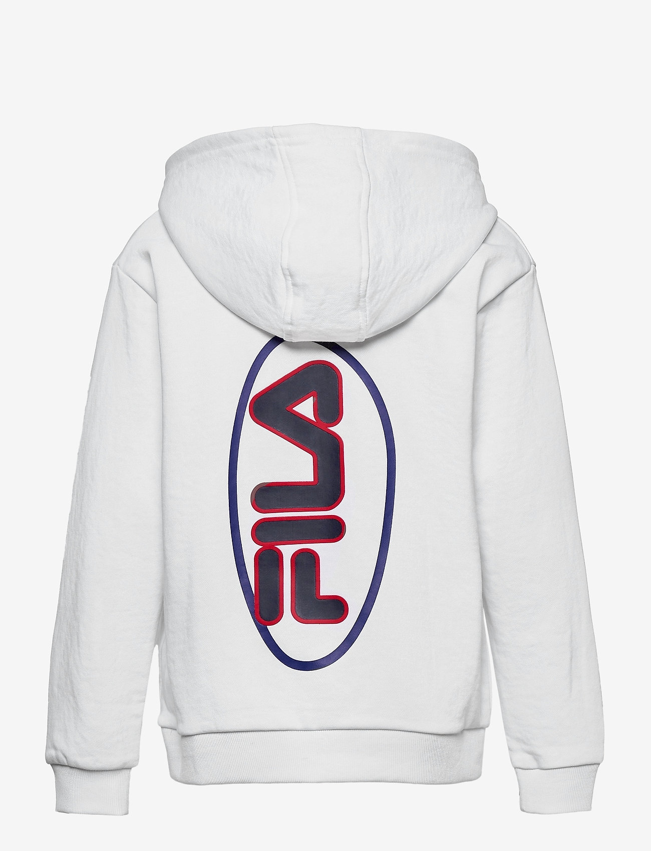 FILA - TEENS BOYS VITOR hoody - hoodies - bright white - 1