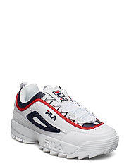 disruptor CB low - WHITE / FILA NAVY / FILA RED