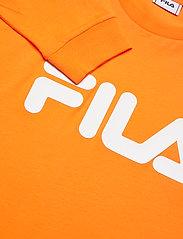 FILA - UNISEX CLASSIC PURE long sleeve shirt - hauts à manches longues - flame orange - 2