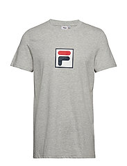EVAN 2.0 Tee SS - LIGHT GREY MELANGE