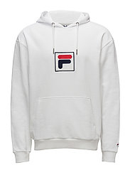 SHAWN hooded sweat - BRIGHT WHITE