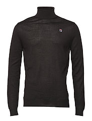 MEN Nelson Turtleneck Knit - BLACK