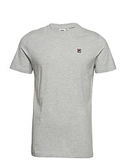 MEN Seamus Tee SS - LIGHT GREY MELANGE
