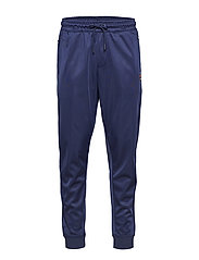 KIT CUFFERED TRACK PANT WITH SHINEY FINISH - PEACOAT