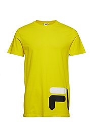 EAMON ss tee - EMPIRE YELLOW