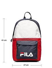 FILA - NEW BACKPACK S´COOL TWO - rugzakken - black iris-true red-bright white - 4