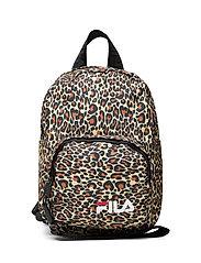 VARBERG AOP mini strap backpack - ALLOVER LEO