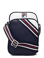 HERITAGE PUSHER BAG - BLACK IRIS-BRIGHT WHITE-TRUE RED