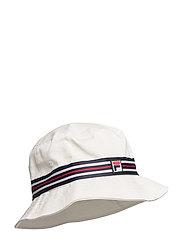 BUCKET HAT with heritage tape - BLANC DE BLANC