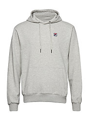 VICTOR hoodie sweat - LIGHT GREY MELANGE