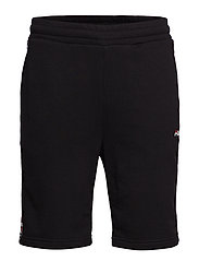 TRISTAN SWEAT SHORTS - BLACK