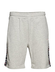 TRISTAN SWEAT SHORTS - LIGHT GREY MELANGE