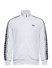 RALPH TRACK JACKET - BRIGHT WHITE