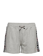 MARIA SHORTS - LIGHT GREY MELANGE BROS