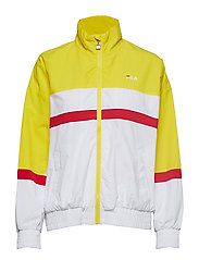 KAYA WIND JACKET - EMPIRE YELLOW-BRIGHT WHITE-BLACK