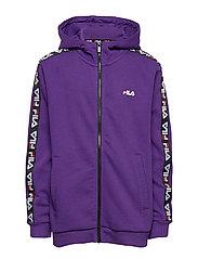 KIDS ADARA zip jacket - TILLANDSIA PURPLE