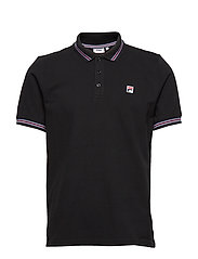 MEN MATCHO 4 polo shirt - BLACK