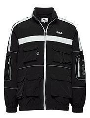 MEN UBA wind jacket - BLACK