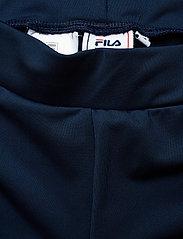 FILA - WOMEN BALLARI leggings - tights & shorts - black iris-bright white - 2