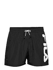 MEN MICHI beach shorts - BLACK