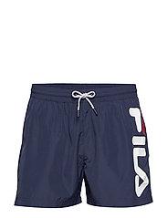MEN MICHI beach shorts - BLACK IRIS