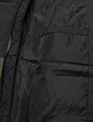 FILA - MEN TANNER tape puffer jacket - veste sport - grape leaf-black - 6