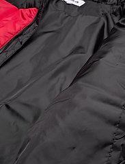 FILA - SCOOTER puffer jacket - veste sport - black-true red - 5