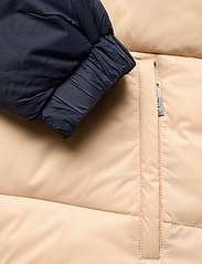FILA - SCOOTER puffer jacket - veste sport - irish cream-black iris - 4