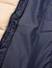 FILA - SCOOTER puffer jacket - veste sport - irish cream-black iris - 5