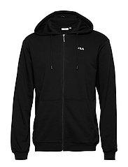 MEN ELAZER sweat jacket - BLACK