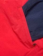 FILA - MEN ELMO woven anorak - anoraks - black iris-true red-bright white - 3