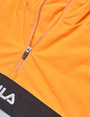 FILA - MEN ELMO woven anorak - anoraks - flame orange-bright white-black - 2