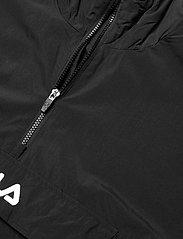 FILA - MEN ELMO woven anorak - anoraks - black - 2