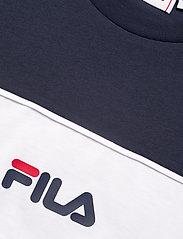 FILA - WOMEN ANOKIA blocked tee - t-shirts - true red-black iris-bright white - 2