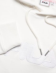 FILA - WOMEN FELICE oversized hoody dress - robes de jour - blanc de blanc - 2