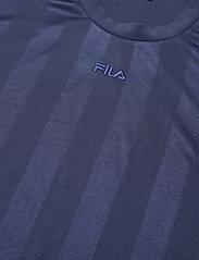 FILA - WOMEN FIA cropped tee - hauts courts - crown blue - 2