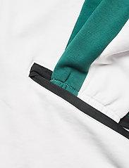 FILA - MEN CLEM half-zip sweat shirt - sweats - blanc de blanc-black-storm - 3