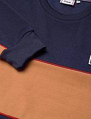 FILA - MEN HAVERD crew shirt - sweats - black iris-hazel - 2
