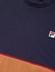 FILA - MEN HAVERD tee - t-shirts - black iris-hazel - 2