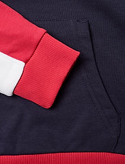 FILA - TEENS GIRLS TRACY hoody - hoodies - black iris-true red-bright white - 3