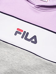 FILA - TEENS GIRLS TRACY hoody - hoodies - light grey melange bros-pastel lilac-brighte white - 2
