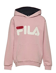 TEENS UNISEX ANDREY classic logo hoody - CORAL BLUSH