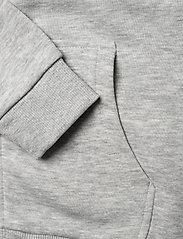 FILA - TEENS UNISEX NIKITA hooded zip jacket - hoodies - light grey mel bros-bright white - 3