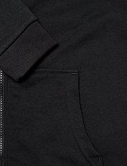 FILA - TEENS UNISEX NIKITA hooded zip jacket - hoodies - black-bright white - 3
