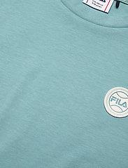 FILA - TEENS GIRLS PATSY tee dress - kleider - cameo blue-snow white - 2