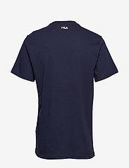 FILA - UNISEX CLASSIC PURE ss tee - t-shirts - black iris - 1