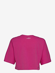FILA - WOMEN JAMIELLE wide cropped tee - crop tops - fuchsia purple - 1