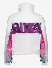FILA - WOMEN EZRIA cropped wind jacket - anoraks - bright white-colour gradient - 1