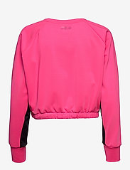 FILA - WOMEN EVELYN cropped shirt - crop tops - candy kiss-black - 1